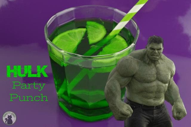 Superhero Party Hulk Punch Recipe