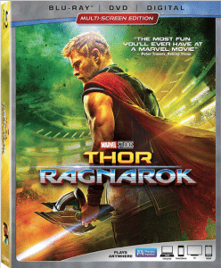 Thor: Ragnarok Available on Blu-ray and DVD Today!