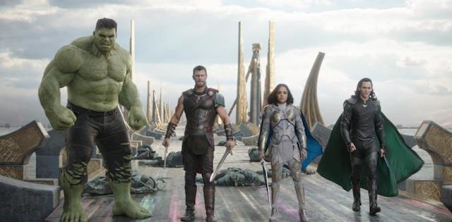 Thor: Ragnarok Thor Hulk Valkyrie Loki