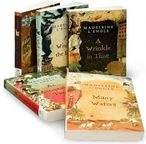 Amazon: The Wrinkle in Time Quintet Boxed Set – $10.99!