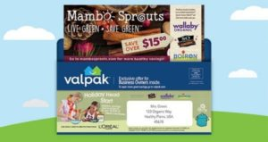FREE Natural and Organic Printable Coupons from Mambo Sprouts