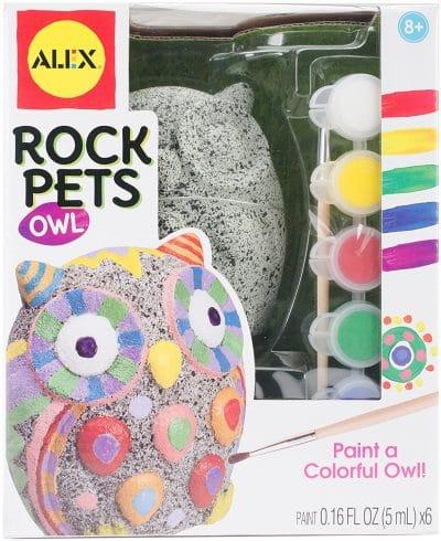 ALEX Toys Rock Pets Owl Craft