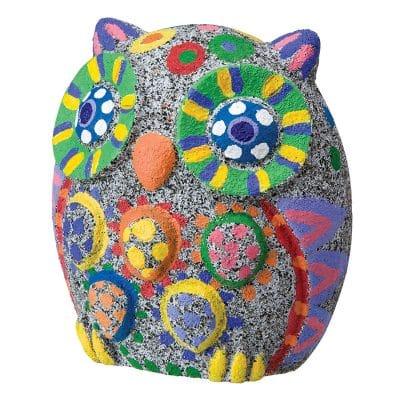 Pet Rock Owl Craft