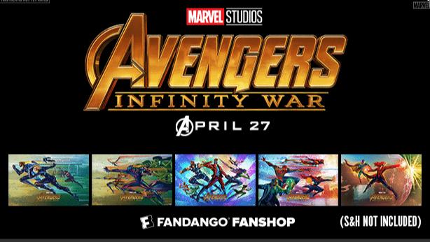 Avengers Infinity War Free Poster Fandango