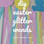 DIY Easter Glitter Wands
