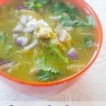 Instant Pot Chicken Chile Verde Recipe pin