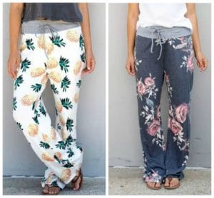 Cute and Comfy Pattern Lounge Pants Just $12.99!