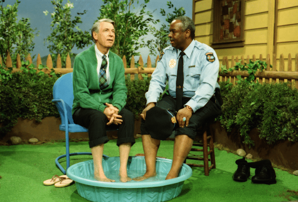 Mr Rogers Officer Clemmons Swimming Pool