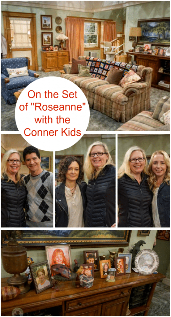 Roseanne Revival Set Interviews