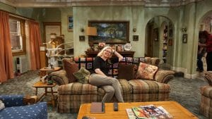 On Roseanne's Couch with Becky, Darlene and DJ
