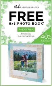 FREE 8×8 Hardcover Photo Book from Shutterfly (Just Pay Shipping)