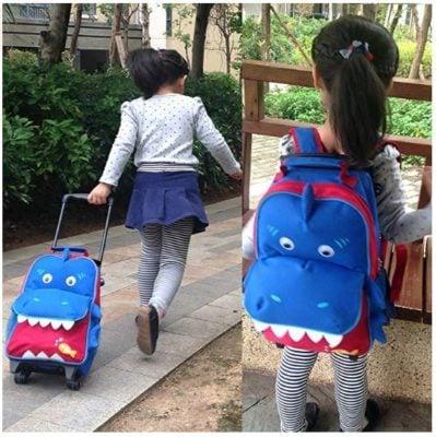 Dinosaur Carryon Bag
