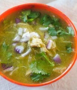 Instant Pot White Chicken Chili Verde