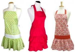 CUTE Women's, Men's, and Kids' Aprons Just $4 Each!