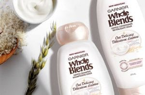 FREE Sample of Garnier Whole Blends Oat Delicacy Shampoo & Conditioner