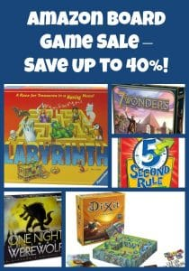 Amazon Board Game Sale – Up to 40% Off!