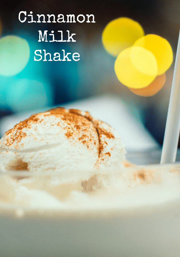 Cinnamon Milk Shake Recipe