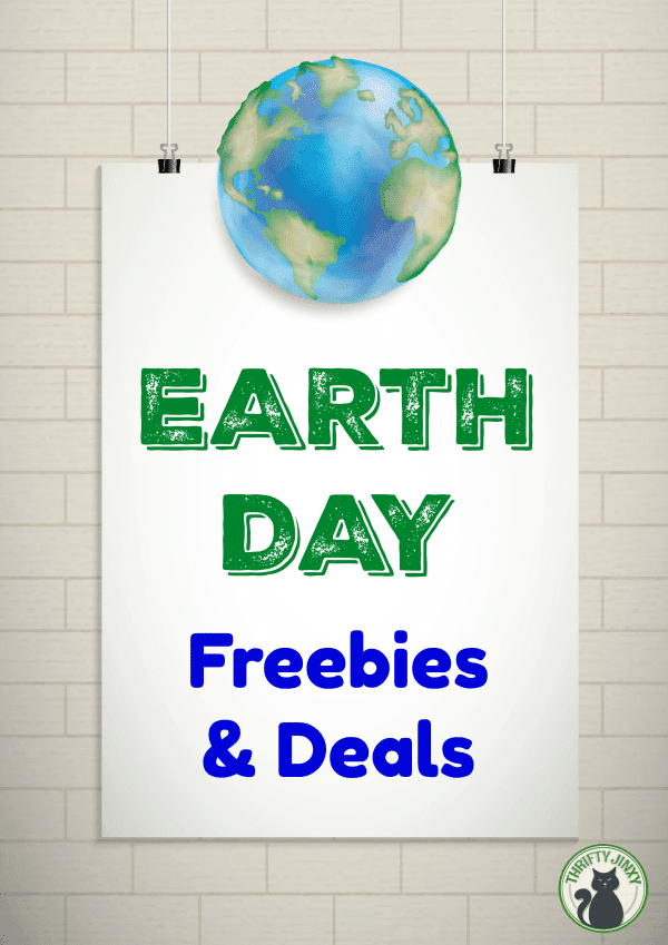 Earth Day Freebies and Deals
