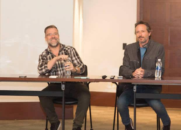 Executive Producers Dan Dworkin and Jay Beattie ABC The Crossing