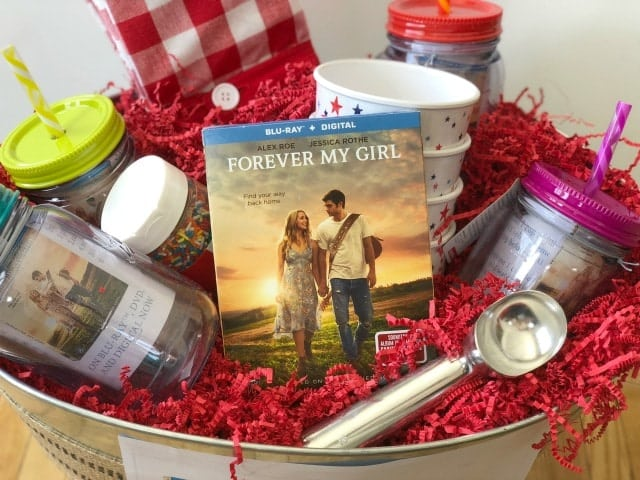 Forever My Girl Ice Cream Gift Basket
