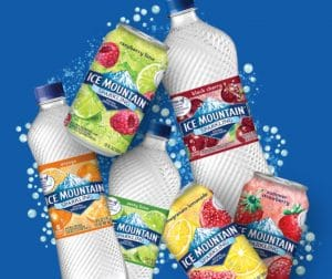 Get a Coupon for a FREE 8-Pack of Sparkling Ice Mountain Natural Spring Water