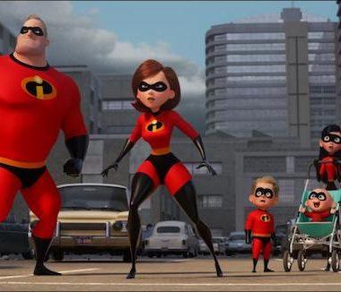 Incredibles 2 Family City Scene