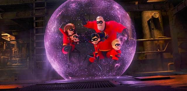 Incredibles 2 Family Bubble
