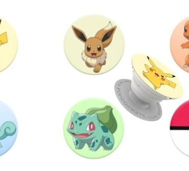 Pokemon PopSockets with Pikachu
