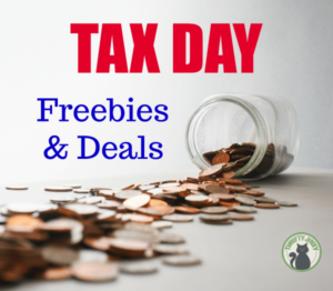 2018 Tax Day Freebies and Discounts List