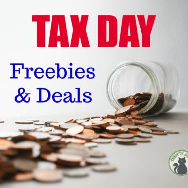 85b5e53d122c 2019 Tax Day Freebies and Discounts List
