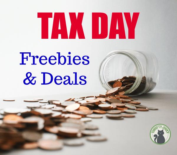 Tax Day Restaurant Deals