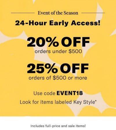 SHOPBOP End of the Season Sale Coupon Code