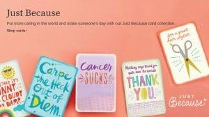 "FREE Hallmark ""Just Because"" Card Every Friday ($2.99 Value)"