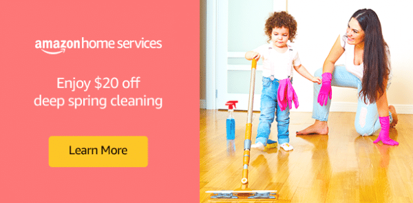 Amazon Home Services: $20 Off Deep Cleaning or Spring Cleaning ...