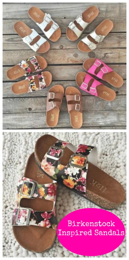 Birkenstock Inspired Sandals