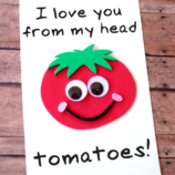DIY Father's Day Tomato Card with Printable Template