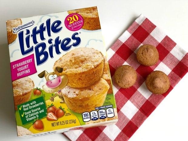 Entenmann's Little Bites Strawberry Yogurt Muffins