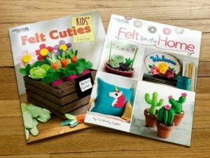 Crafty Fun with Two Felt Craft Pattern Books from Leisure Arts + Reader Giveaway