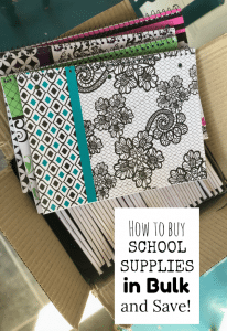 Buy School Supplies in Bulk and SAVE!