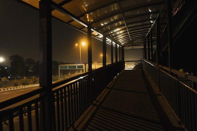 Night Safety Dark Walkway