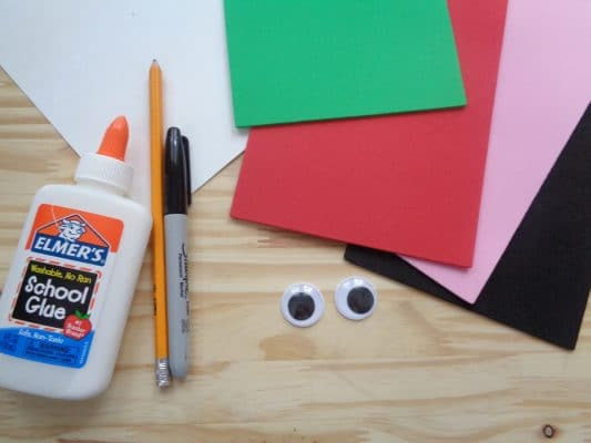 DIY Father's Day Tomato Card Supplies
