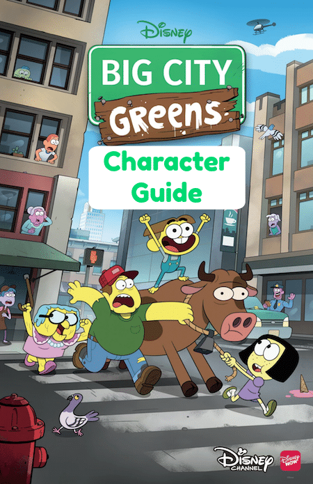 Learn all about your favorite characters with this Big City Greens Character Guide created with information from creators Shane and Chris Houghton.