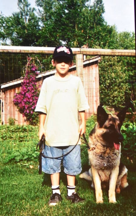 Chris Shane Houghton Childhood Dog