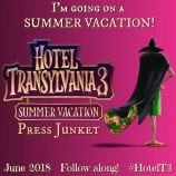 HOTEL TRANSYLVANIA 3: SUMMER VACATION Press Junket this Week!