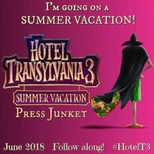 Hotel Transylvania 3 Press Junket
