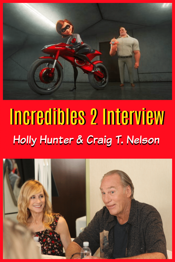 Incredibles Interview with Holly Hunter and Craig T. Nelson