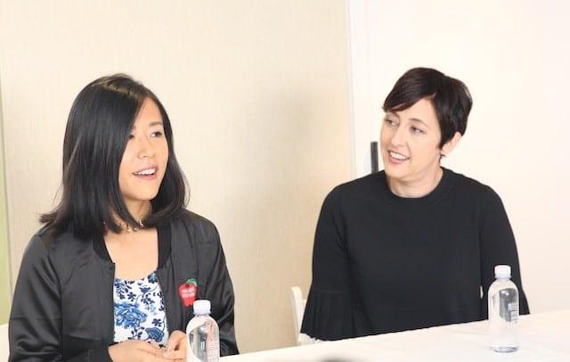 Pixar Director Domee Shi and Producer Becky Neiman-Cobb