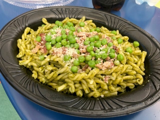 Pixar Fest Green Miso Pesto Pasta