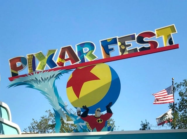 Pixar Fest Incredibles Disneyland Resort