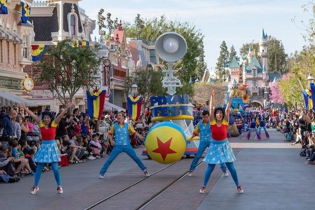 Pixar Play Parade Pixar Fest Disneyland